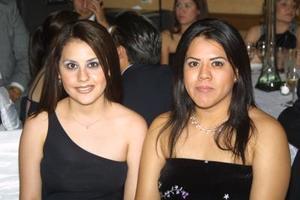 Alma Delia Valdez Anguiano y Cecilia Rebolloso Ibarra.