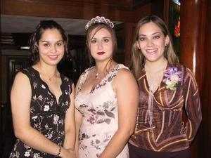 Ana Gabriela Hernéndez, Sofía Negrete y Judith Hernández