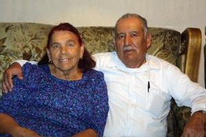 María Isabel Venegas y José Alomso Zacarías.