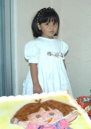 Ana Victoria Zambrano Collazo festejó su cumpleaños; es hija de los señores David y Eva Zambrano.