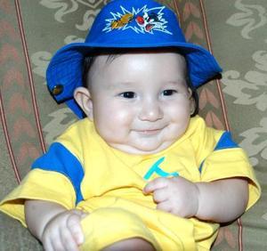 El pequeño Jesús Andrés Galindo Herrera, captada a sus cuatros años de edad .