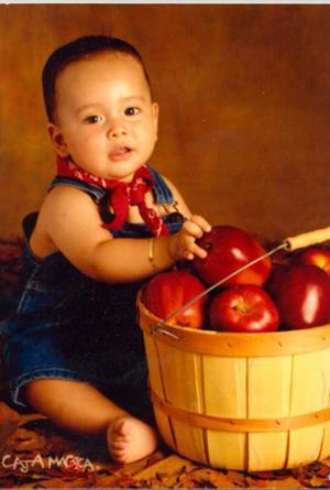 Jesús Antonio Dávila Montoya celebró su primer año de vida el pasado nueve de junio.