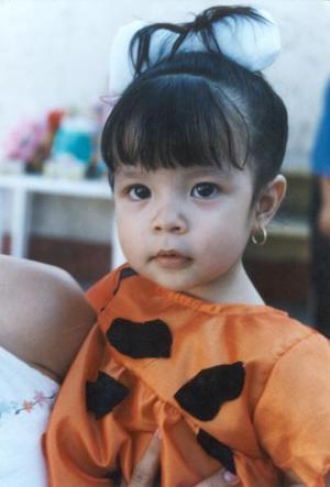 Michelle Monserrat Reyna Puentes, hija de Ismael Reyna Serrano y Clara Puentes de Reyes.