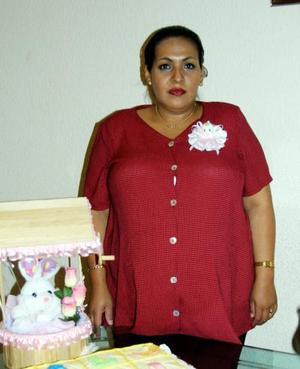 Muchos obsequios recibió Griselda Peña de Medrano en la fiesta de canastilla que le ofreció un grupode amigas y familiares.