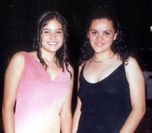Carla García y Jacqueline Ménez.