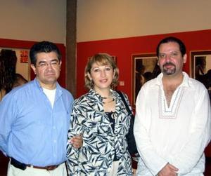 Ángel Aguirre Rodríguez, María Esther Aguirre y Gregorio Muñoz Campos