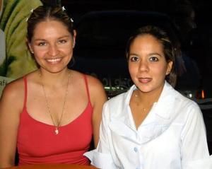 Irma Ávila Martínez y Claudia Vázquez.