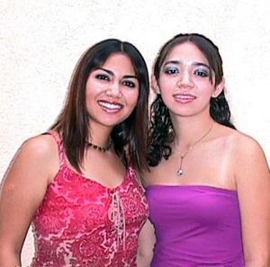 Vanessa y Arianna Flores Ramos.