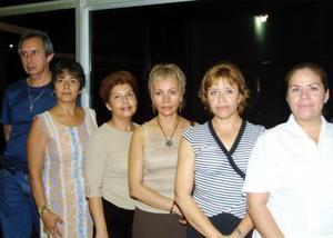 Raúl Castillo, Hortensia Herrera, Silvia Zamudio, Norma Barba,  María del Carmen Tejeda y Enrique Jáquez.