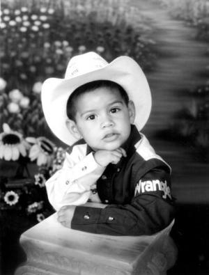Juan Manuel García Rodríguez cumplió tres años de edad, y los celebró con una divertida fiesta.