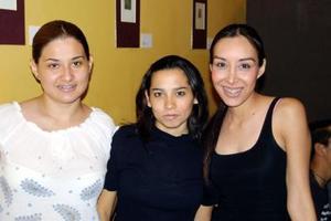 Karla Belmonte, Brenda Martínez y Lupita Castañeda