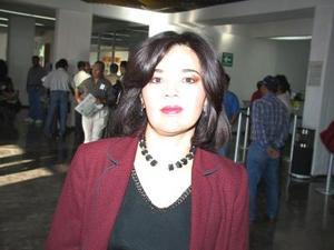 Mariana Arvizu se trasladó por la vía aérea a la Ciudad de México.