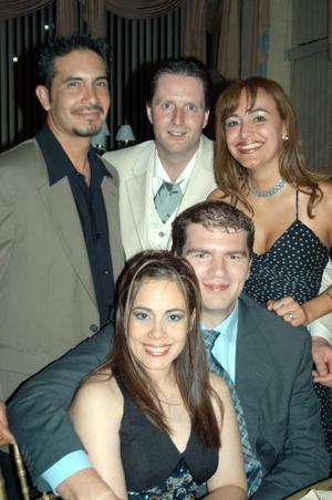 Coen Wever, José Villalobos, Claudia, Graciella y Edo Boet.