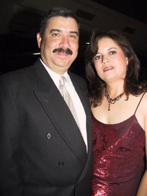 Víctor Alducín y Cecilia Martínez de Alducín.