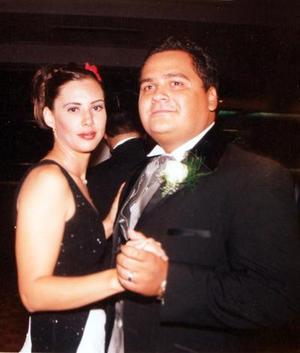 Ana Cristina Lavín de Herrera y Donaldo Ramos.