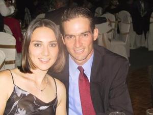 Cecilia Muñoz de Treviño y Flavio Treviño Cantú.