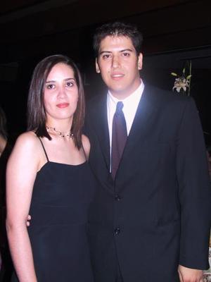Marlene Chavrant y Luis Manuel Hernández.