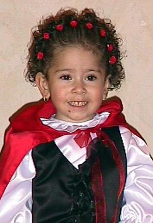 Angie Maldonado Mata fue captada durante  el festejo que le ofrecieron por su tercer aniversario de vida, sus papás César Maldonado y Verónica Mata de Maldonado.