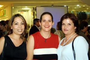 Alida Villarreal, María Inés González Trejo y Cristy C. de Zea.