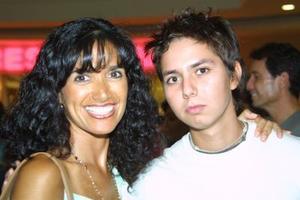 Laura T. de Hernández y Manolo de la Tijera Hernández.