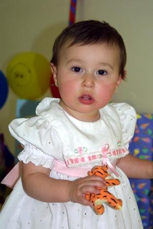 Nyah Stephanie Pielmer, hija de los señores Kelvin y Cecilia Pielmer.
