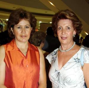 Josie Iriarte e Idaly Chibli.