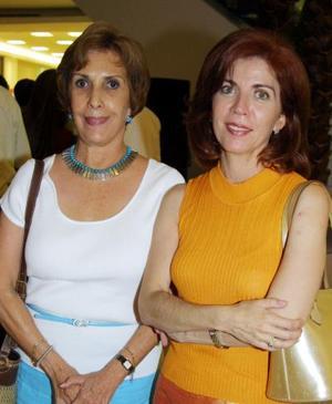 Mavisa de Garza y onnie Ahnert.