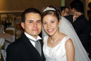 Antonio Santacruz Rodríguez y Laura Esmeralda López Hinojosa.