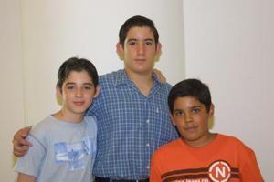Juan Carlos Félix, Rodolfo Valdés y Andrés Arollo