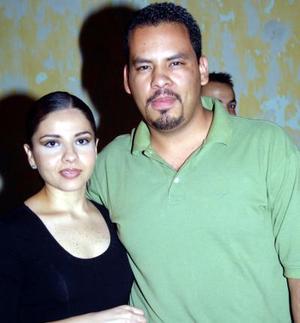 Lila Hernández y Sergio Oviedo.