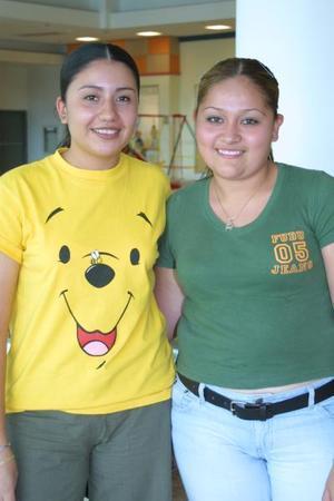 Paulina Álvarez Vázquez y Mayela Ramírez Aguilera.