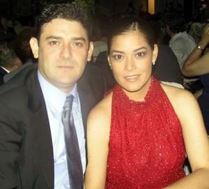 Óscar Ortiz  Saborit y Brenda Román Flores.