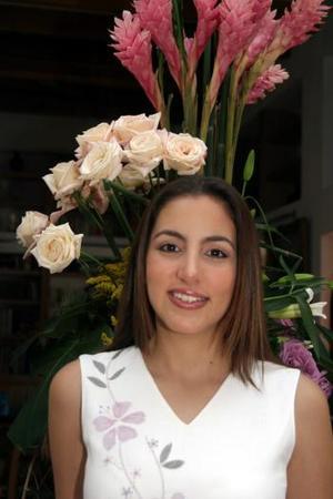 <b>30 julio </b> <p> Selfia I. Ramos Rodallegas unirá su vida en matrimonio a la de Ricardo Alvarado Nájera .