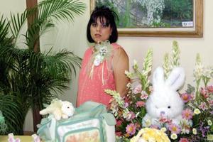 Laura Macías de Garza en la fiesta de regalos para bebé que el ofrecieron para Laura Anozurrutia, Evangelina Mijares y Judith Reyes.