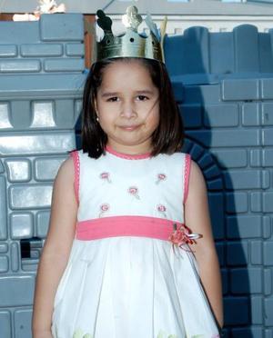 Muy bonita lució en su fiesta de cumpleaños, la niña Itzel Trejo Canales