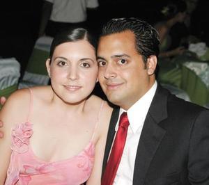 <b>02 agosto</b> <p>Paola González y Armando Martínez