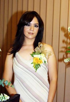 Claudia Cristina Mata Zarzoza contrajo matrimonio con Ernesto Rosales Velázquez el pasado 26 de julio.