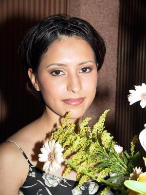 <b>03 a 04 agosto</b> <p>Nidia Margarita Torres Estrada en su primera despedida de soltera.