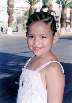 Aranza Priscila de la Cruz Barrios en pasado convivio.
