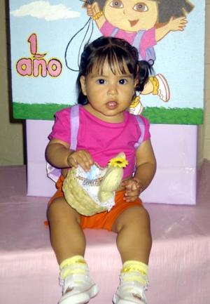 Con un convivio fue festejada Vannia Yamid al cumplir un año de edad. Es hija de Juan Francisco Almeida y Luz Adriana Galaviz de Almeida.