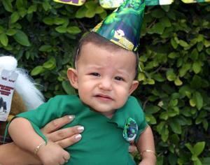 Con una divertida fiesta celebró su primer año de edad el niño Jorge Alfredo Rodríguez Díaz de León.