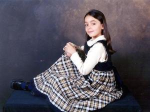 Laura Isabel Fraire Ramírez obtuvo el primer lugar en aprovechamiento del segundo año de primaria de su escuela.