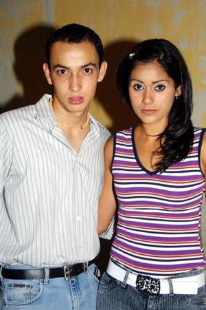 Eduardo Faudoa y Claudia Reyes