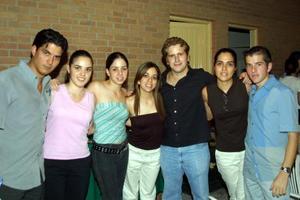 Humberto Baca, Margarita Martínez, Lorena García, Ana Tere García, Andrés de la Parra y Cándido García.