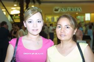 Rosy Huereca y Rosy Ramos.