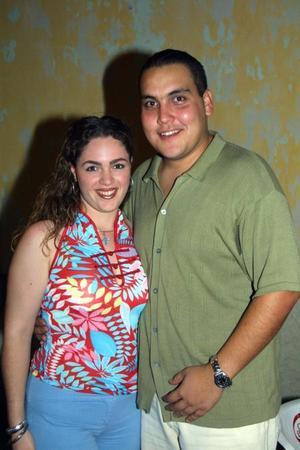 Tania Martos y Carlos Faudoa