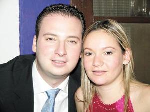 Javier Acosta y Nidia de Acosta.