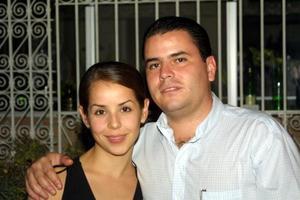 Claudia Mendiola y Seferino González.