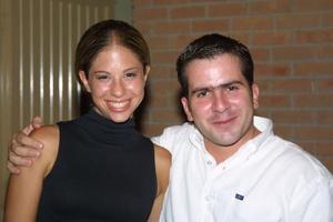 <b>06 de agosto </b><p> Susana Villarreal y Diego de la Parra
