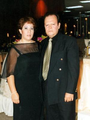 María Elena Rivera y Carlos Meneses.